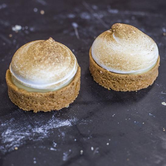 Lemon meringue gebak