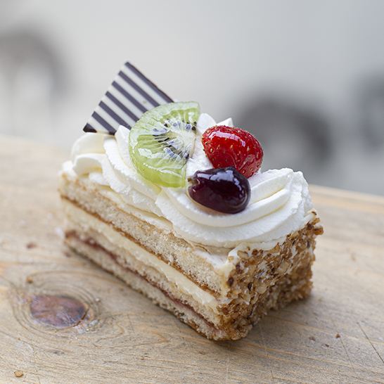 Slagroom-cakegebak