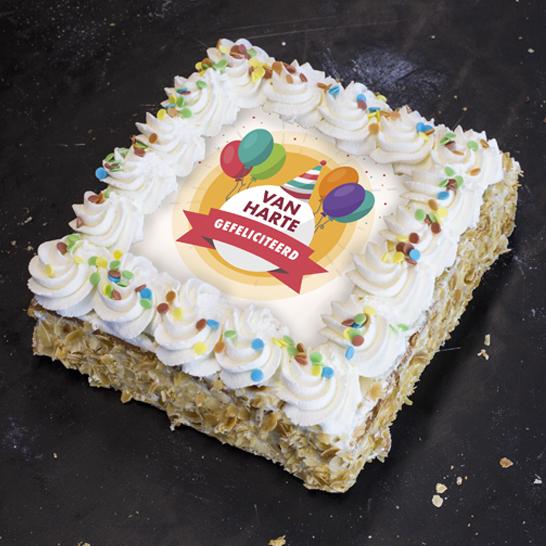Van harte taart