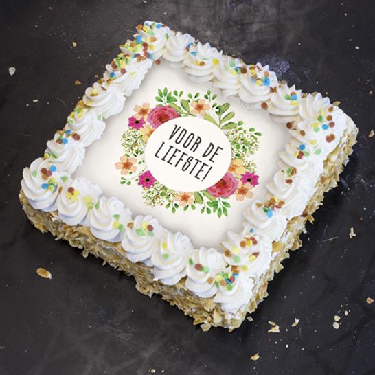 Voor de liefste taart