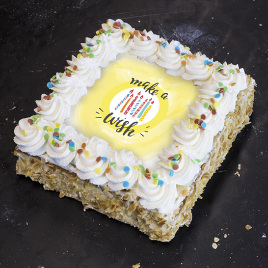 Make a wish taart